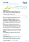 Merkblatt Energetische Stadtsanierung KfW